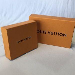 LOUIS VUITTON Set of 2 accessory boxes